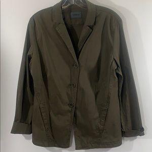 OSKA WEIKE  jacket 3 button size 8-10 twil…